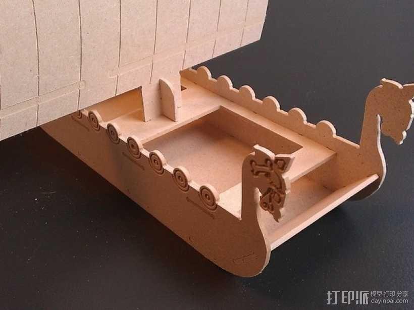 维京海盗船 3D模型  图4