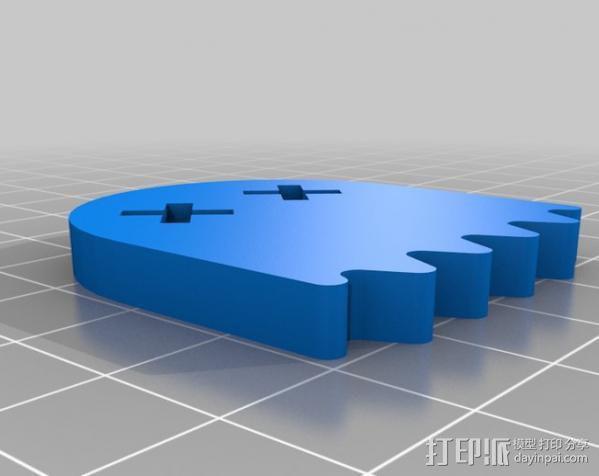 吃豆人 小幽灵 3D模型  图4