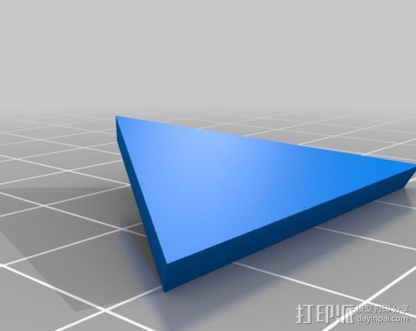 网格状圆顶建筑结构 3D模型  图3