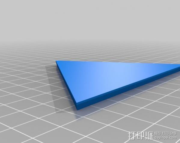 网格状圆顶建筑结构 3D模型  图2