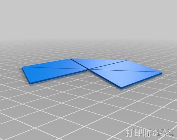 网格状圆顶建筑结构 3D模型  图4