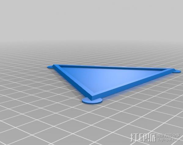 网格状圆顶建筑结构 3D模型  图9
