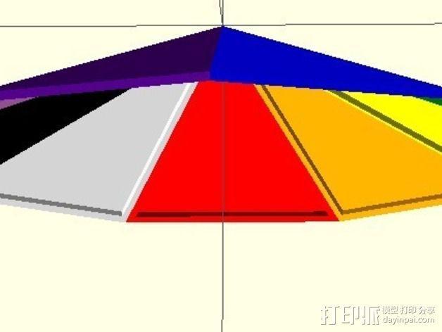 网格状圆顶建筑结构 3D模型  图16