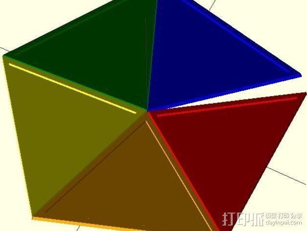 网格状圆顶建筑结构 3D模型  图12