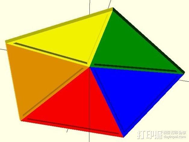 网格状圆顶建筑结构 3D模型  图14