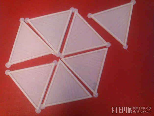网格状圆顶建筑结构 3D模型  图19
