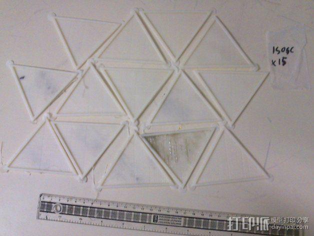 网格状圆顶建筑结构 3D模型  图21