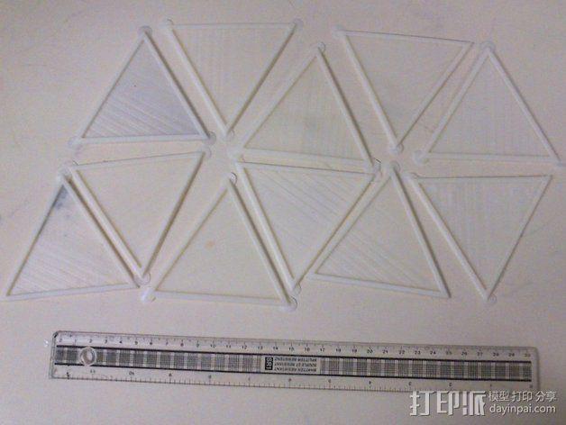 网格状圆顶建筑结构 3D模型  图24