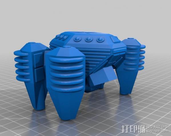 侦查飞船 3D模型  图1