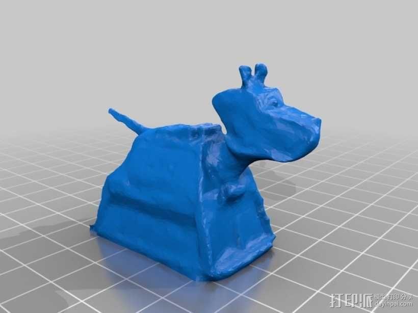 K-9小狗机器人 3D模型  图1