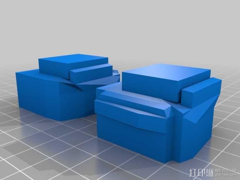 MiniFig 机器人 3D模型  图5