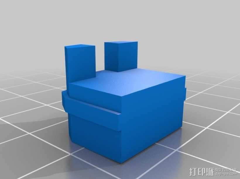 MiniFig 机器人 3D模型  图22