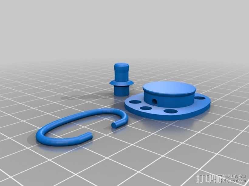 婴儿奶嘴 3D模型  图2