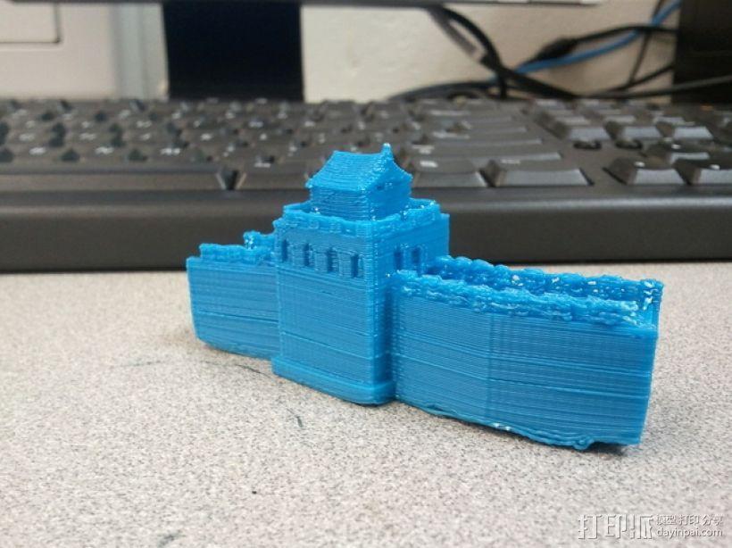 中国的长城 3D模型  图3