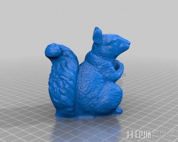 松鼠 3D模型  图2