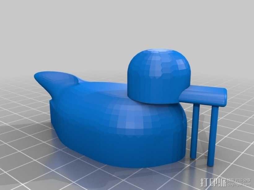 大黄鸭 橡胶鸭 3D模型  图2