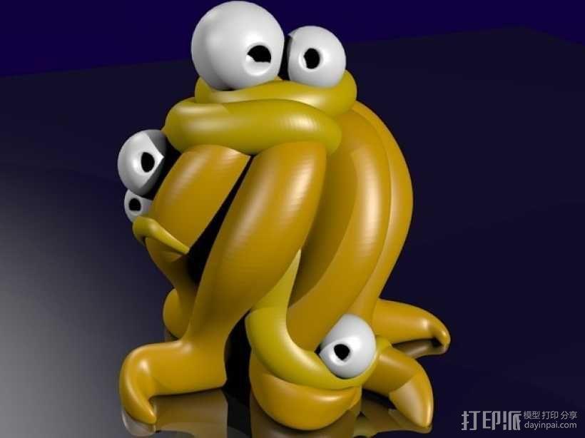 Yog-Soggoth克苏鲁神话 3D模型  图1