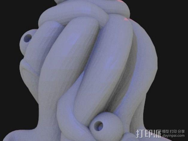 Yog-Soggoth克苏鲁神话 3D模型  图3