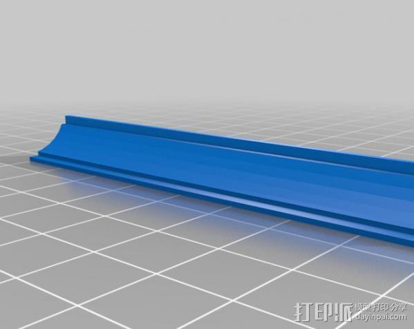 梁托 托臂 建筑支撑 3D模型  图2