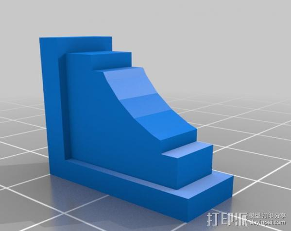 梁托 托臂 建筑支撑 3D模型  图3