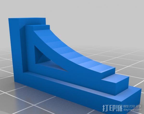 梁托 托臂 建筑支撑 3D模型  图5