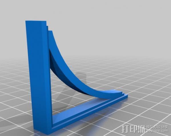 梁托 托臂 建筑支撑 3D模型  图6
