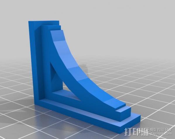 梁托 托臂 建筑支撑 3D模型  图4