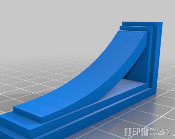 梁托 托臂 建筑支撑 3D模型  图7