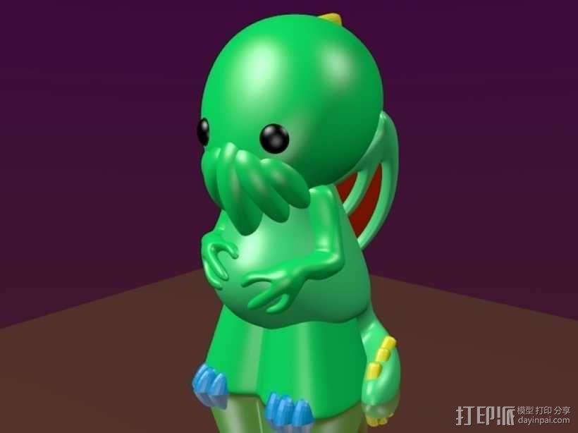 迷你克苏鲁 3D模型  图1