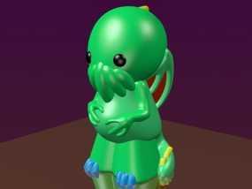 迷你克苏鲁 3D模型