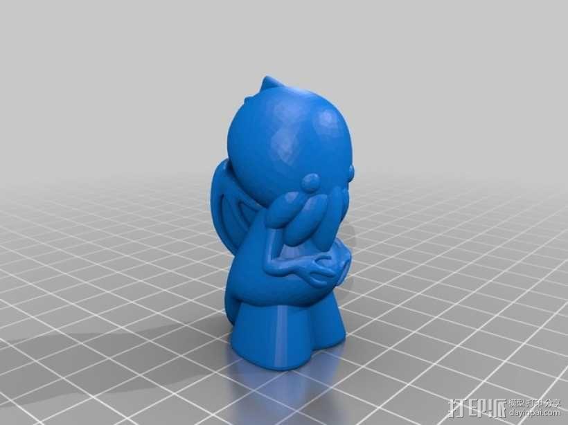 迷你克苏鲁 3D模型  图5