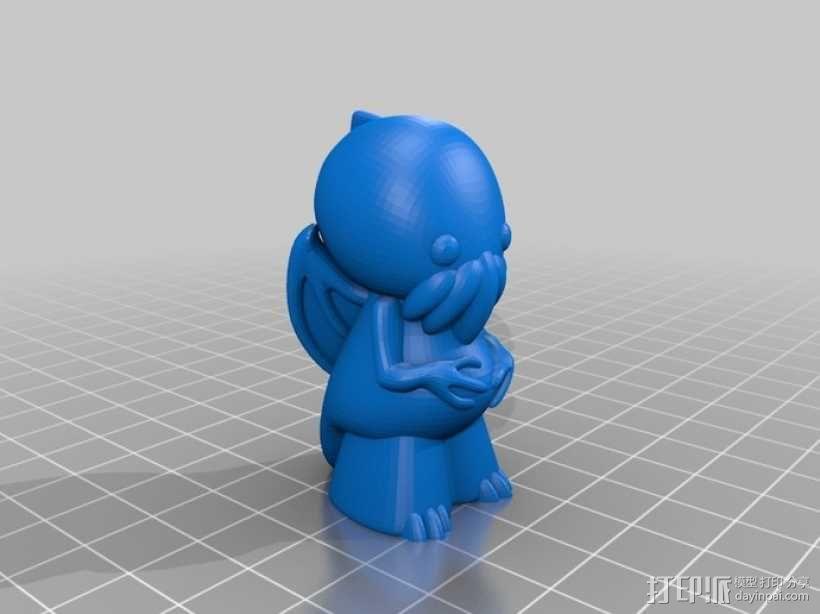 迷你克苏鲁 3D模型  图7