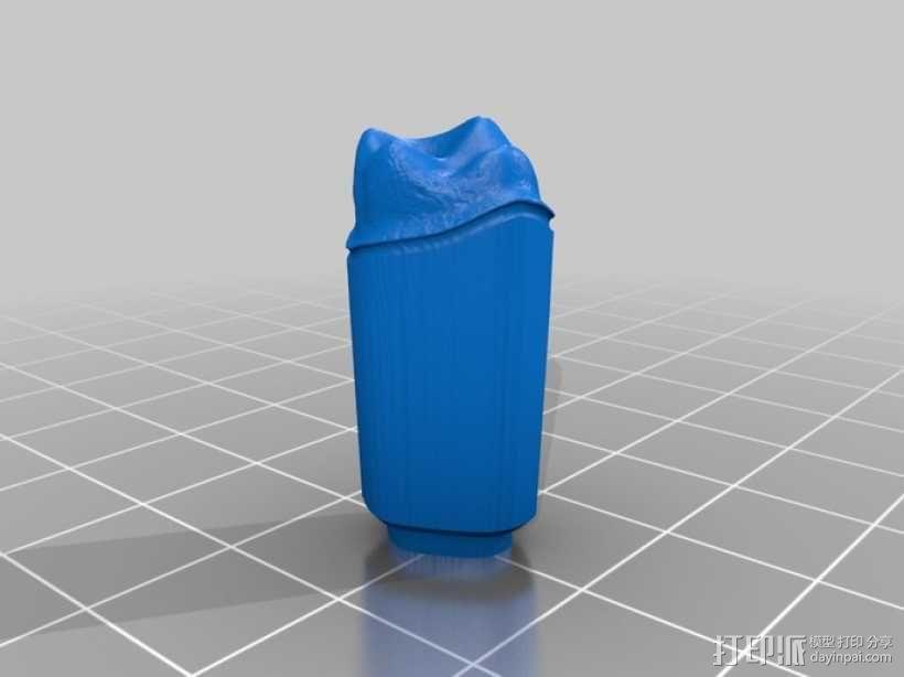 牙齿和牙床 3D模型  图1