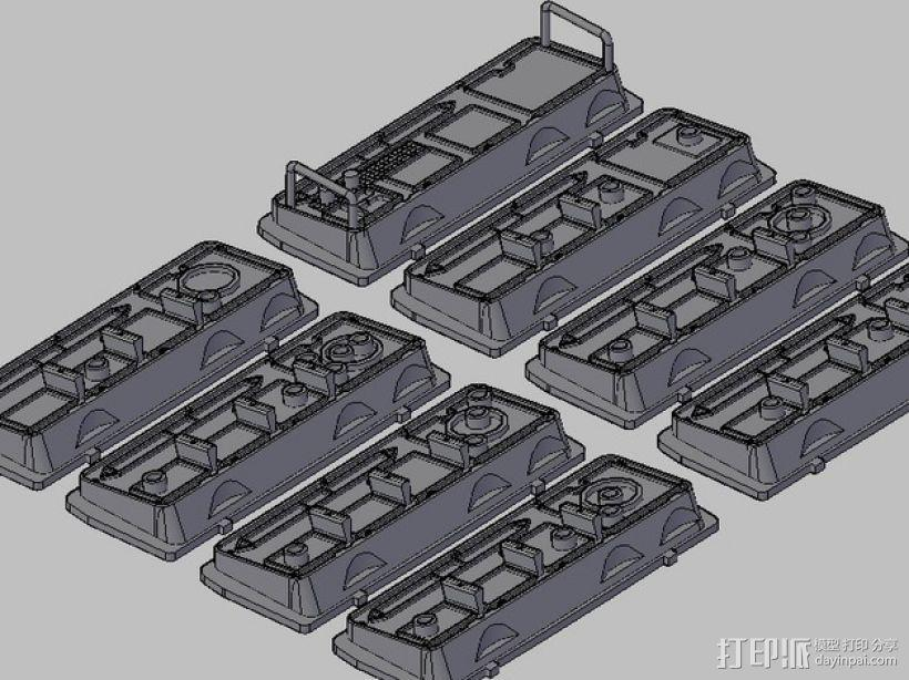 韩索罗的控制板 3D模型  图1