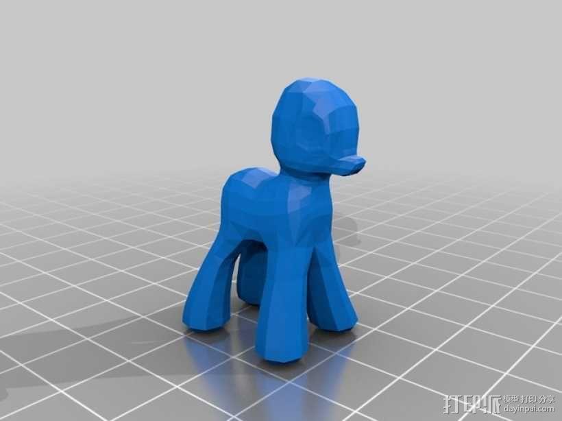 小马宝莉 3D模型  图1