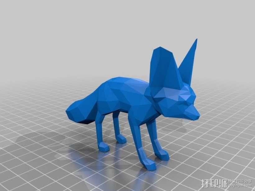 狐狸 3D模型  图4
