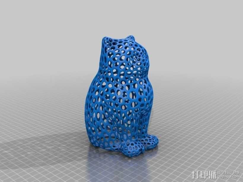 猫 3D模型  图1