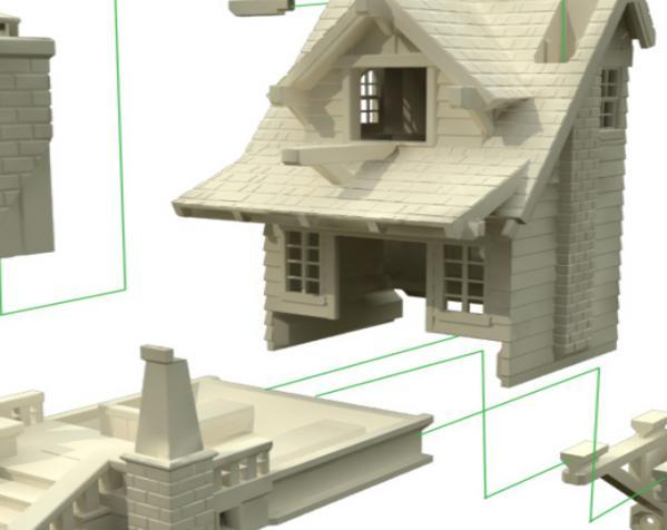 漂亮鸟笼房子 3D模型  图5