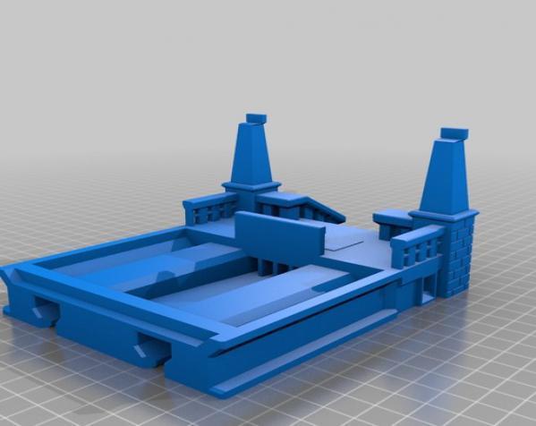 漂亮鸟笼房子 3D模型  图2