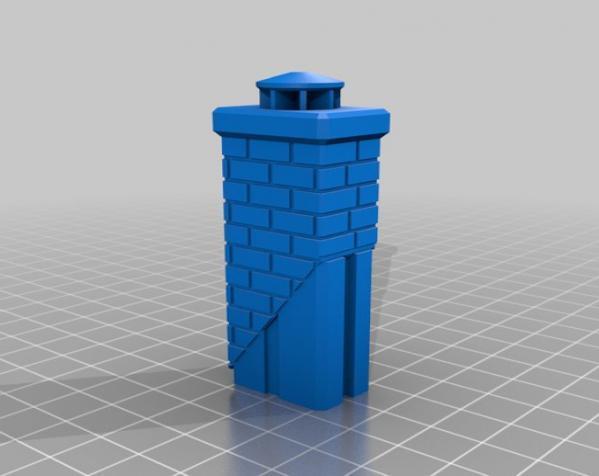 漂亮鸟笼房子 3D模型  图7