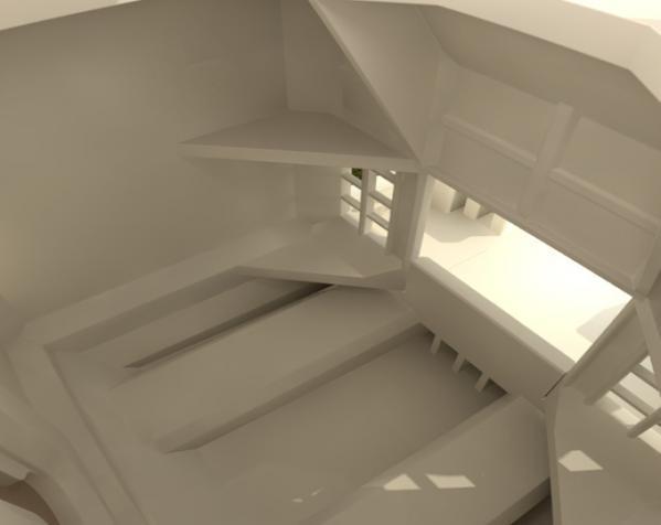 漂亮鸟笼房子 3D模型  图4