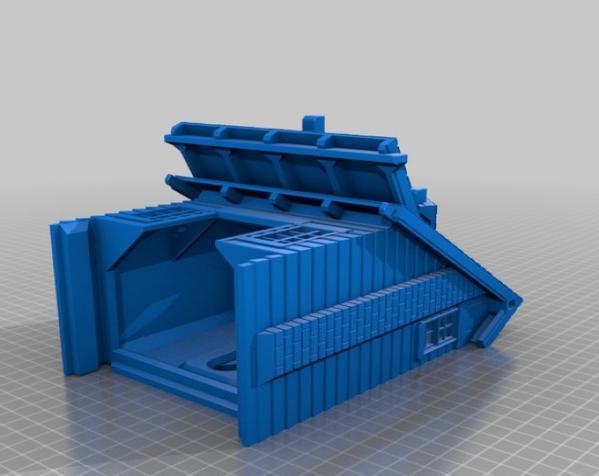 漂亮鸟笼房子 3D模型  图6
