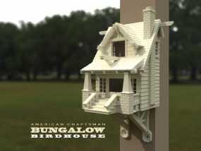 漂亮鸟笼房子 3D模型