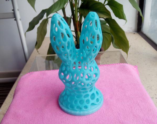 兔子头 3D打印制作  图4