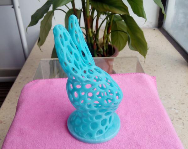 兔子头 3D打印制作  图1