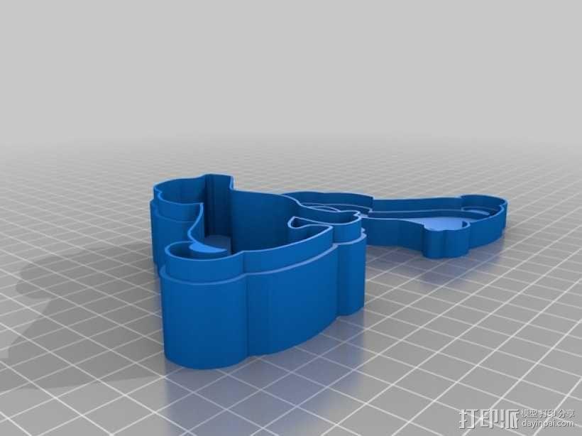 可定制收纳盒 3D模型  图4