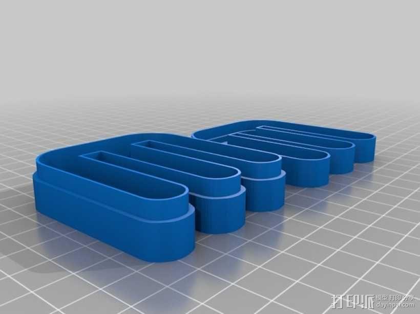 可定制收纳盒 3D模型  图3