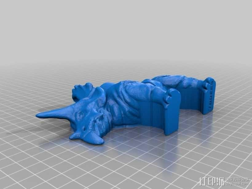 恐龙工具架 3D模型  图3