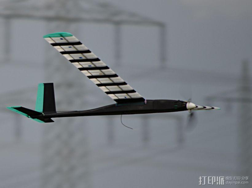 FDM 3D打印的滑翔机 3D模型  图2