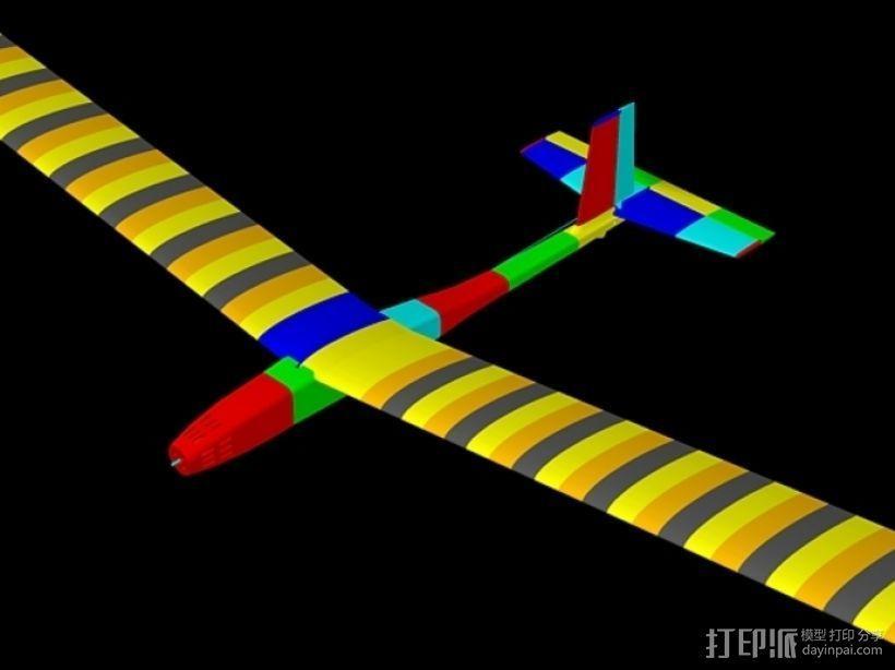 FDM 3D打印的滑翔机 3D模型  图13